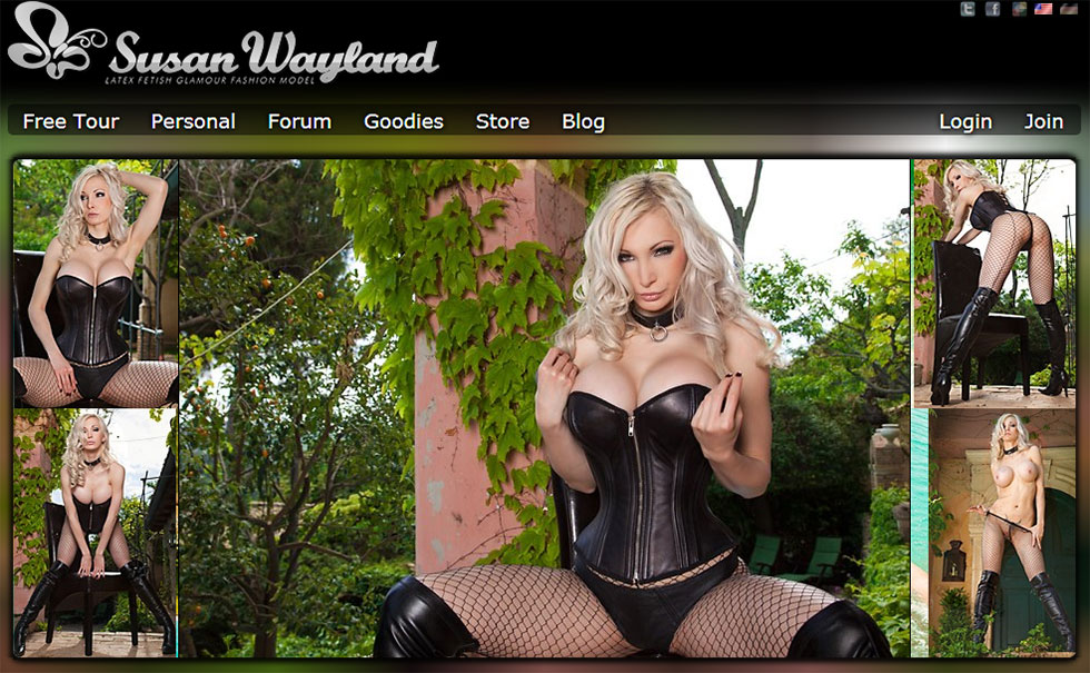 Visit Susan Wayland official website!